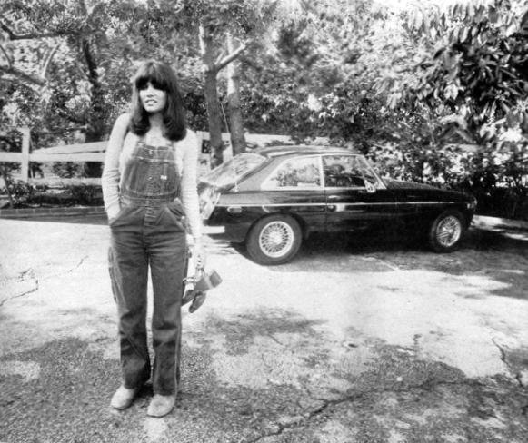 Her sports car aside, Ronstadt's main vehicle is a bus on which she tours campuses. Stardom, she says, is 'a delusion.'